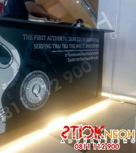 Percetakan Sticker Neon Box Huruf Timbul 10