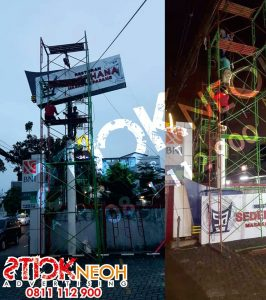Percetakan Sticker Neon Box Huruf Timbul 7